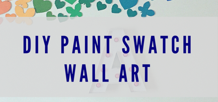 Recreate this beautiful (yet simple) wall art craft