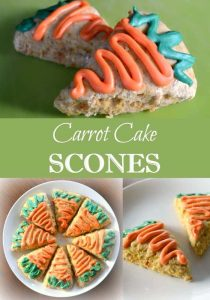 These Carrot Cake Scones from Wondermom Wannabe are absolutely perfect for this year's Easter brunch.