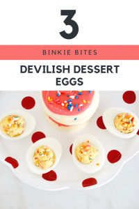 On the hunt for some tasty Easter desserts? Well check out these Devilish dessert ideas from Binkie Bites!