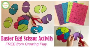 This activity from Growing Play is an easy project for parents to do with their children.