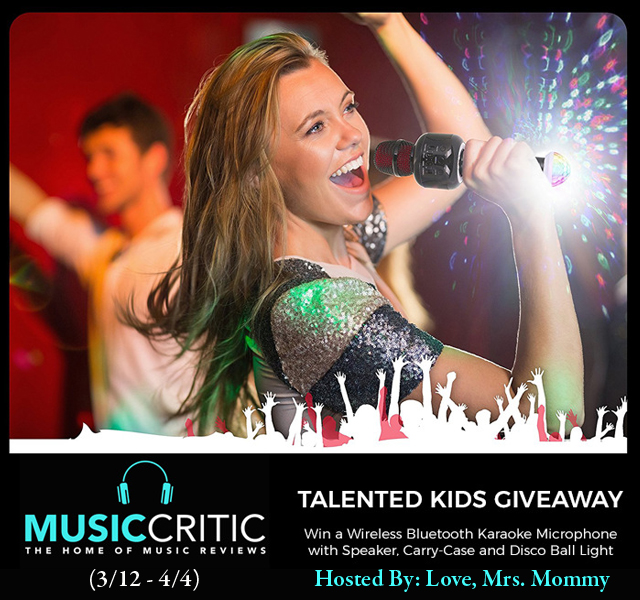***CLOSED*** Wireless Bluetooth Karaoke Microphone Giveaway Ends 4/4