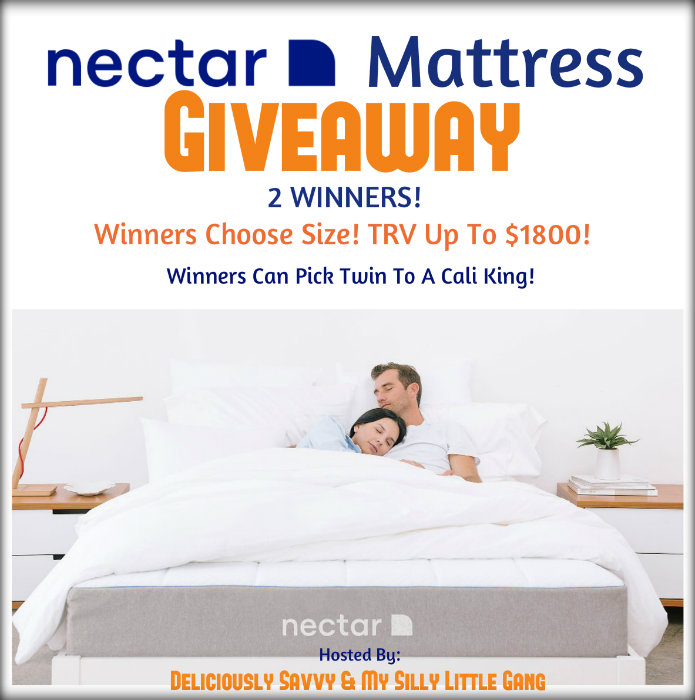 *CLOSED* NECTAR Mattress Giveaway-Ends 4/30