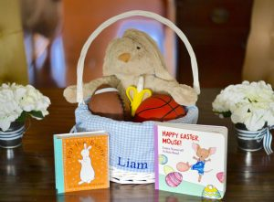 Make that first Easter extra special with this Infant Gift Basket Idea from The Blessed Mess.
