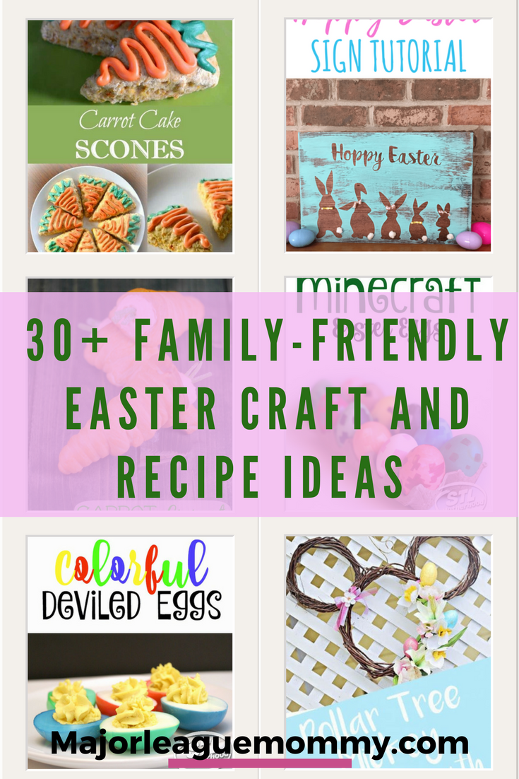 30 Family Friendly Easter Craft And Recipe Ideas