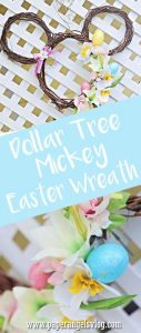 Check out this awesome DIY Mickey Mouse Easter Wreath created by Paper Angels vlog!