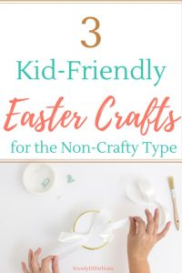 Garlands and cards, here are 3 Easter crafts from Lovely Little Lives that don't require you to be super crafty.