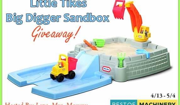 Enter to Win Little Tikes Big Digger Sandbox Giveaway