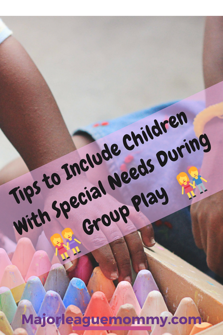 Tips to Include Children With Special Needs During Group Play