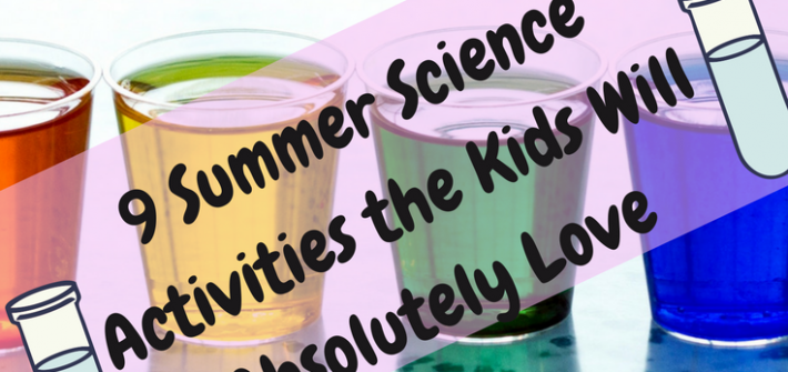 These fun summer science activities are sure to be a huge hit with the kiddos!