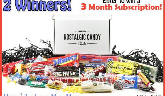 Nostalgic Candy Giveaway