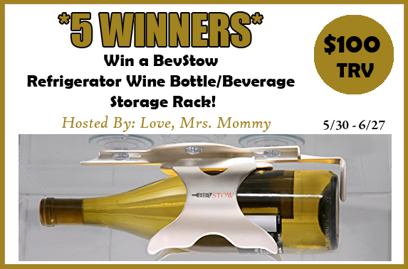 Enter to win in this BevStow Giveaway! There will be 5 winners!