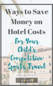 Tips to save money on sports travel