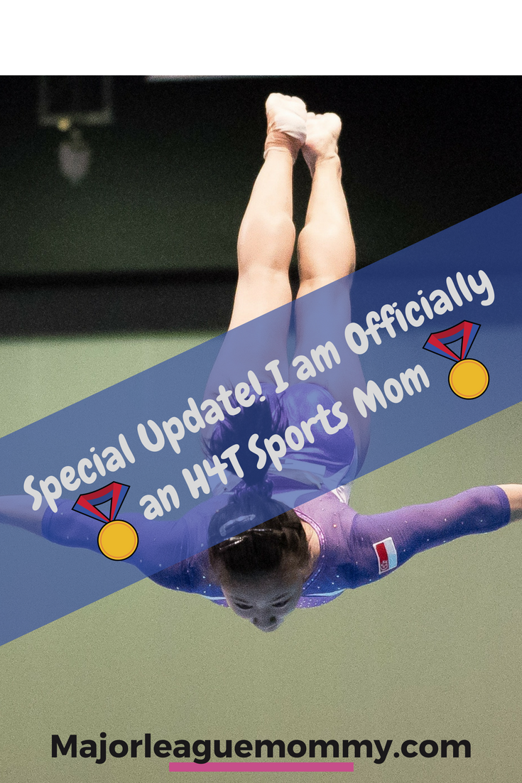 Special Update! I am Officially an H4T Sports Mom