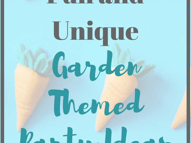 Looking for a cool birthday party idea? Check out these Garden Themed Party Ideas