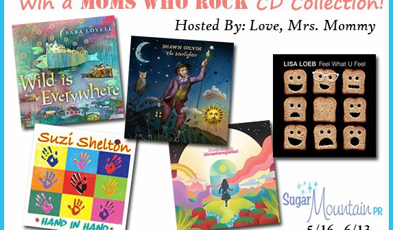 Enter to win in our Moms Who Rock CD Giveaway!