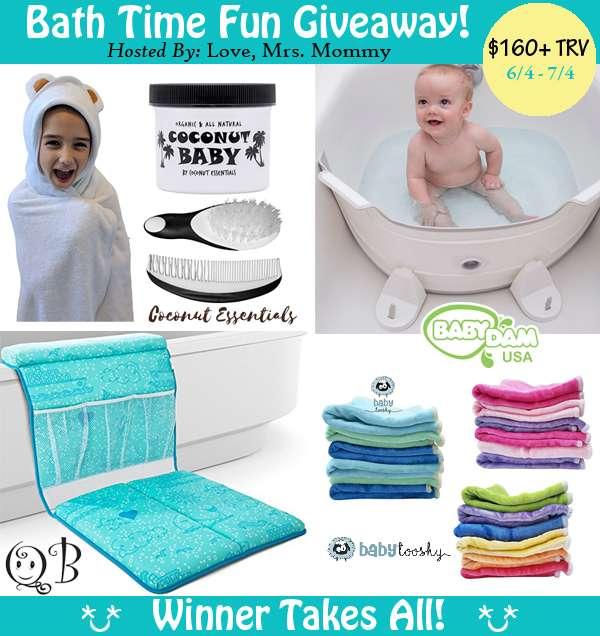 Bath Time Fun Giveaway