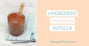 Mmmmm.... a yummy Homemade hazelnut spread is a great addition to your Father's Day brunch.