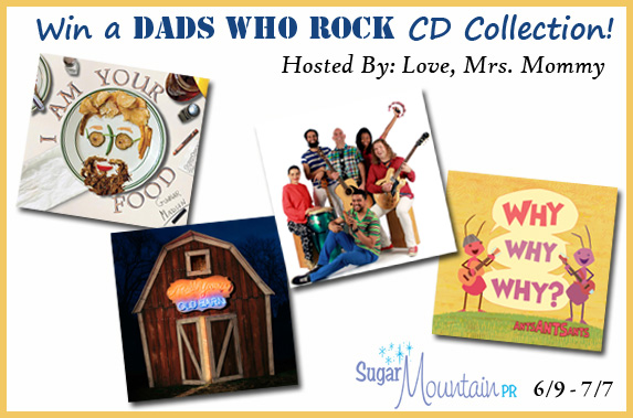 Enter to win in the Dads Who Rock Giveaway