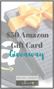 Enter to win an Amazon Gift Card- Ends July 17