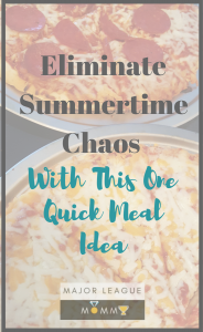 Eliminate Summertime Chaos With This One Quick Meal Idea