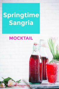 Looking for a fun non-alcoholic drink that the whole family can enjoy? These Springtime Sangria Mocktails are a tasty drink perfect for any special occasion.