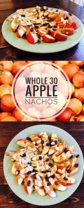 Glitter on a Dime has a tasty brunch idea that's a fit even for those on a Whole 30 diet. Try out these Apple Nachos for a delicious and nutritious treat.