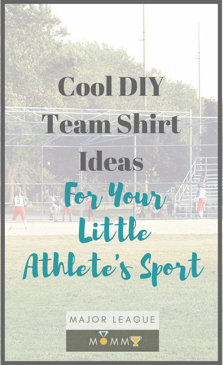 Cool Diy Team Shirt Ideas For Your Little Athletes Sport