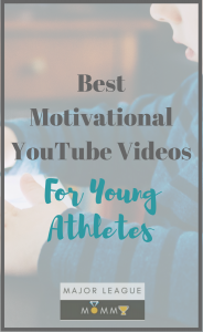 A collection of Motivational YouTube videos for young athletes