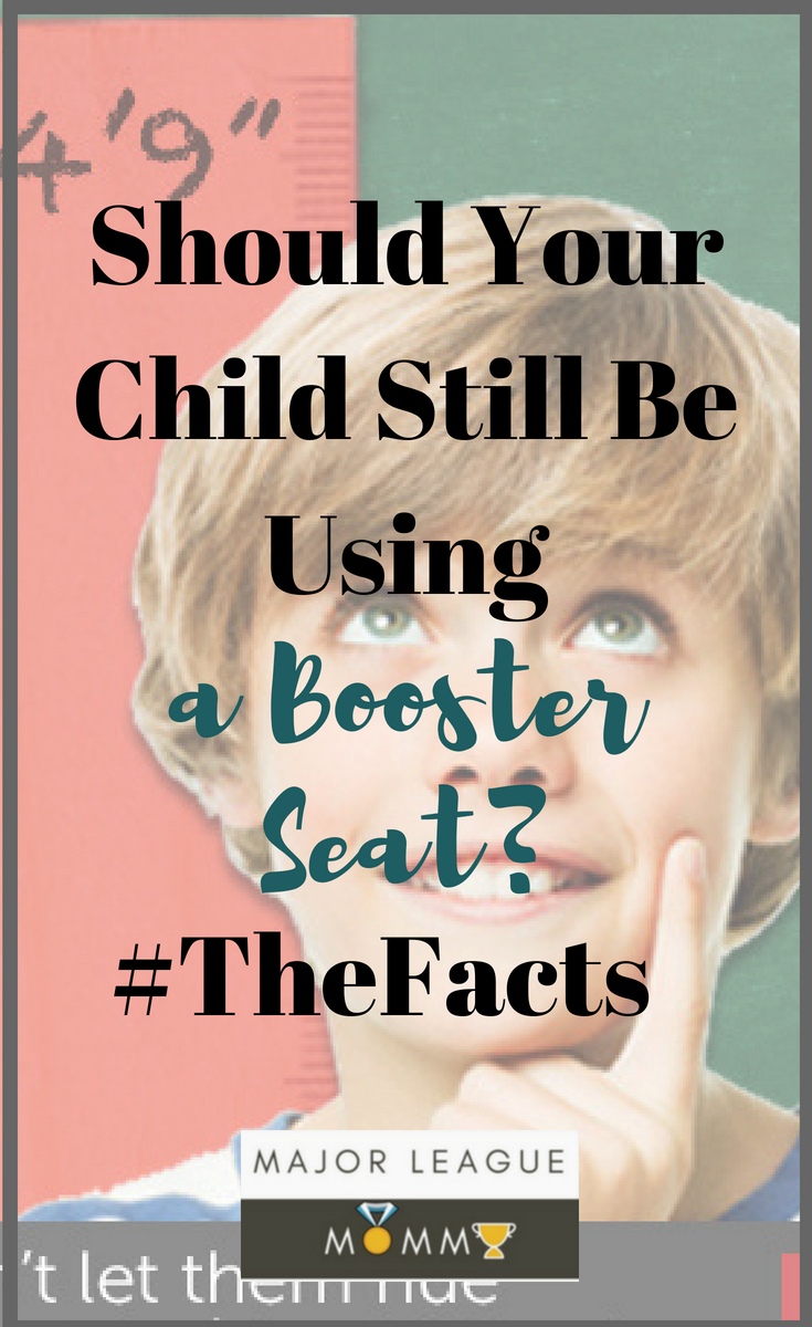 Should Your Child Still Be Using a Booster Seat? #TheFacts