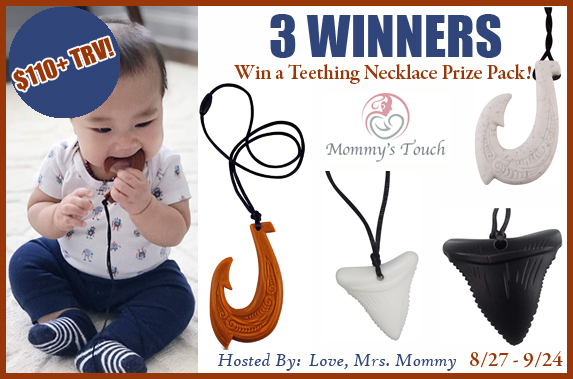 Enter to win in our Touch Silicone Necklaces Giveaway!