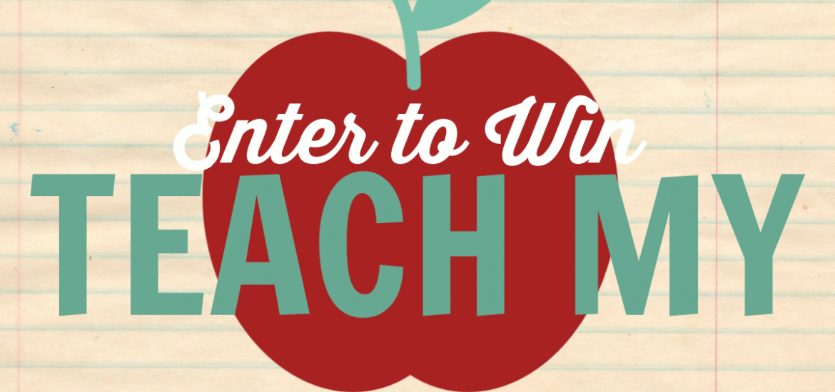 Celebrate the new school year by winning a super cool Learning Kit. Enter to Win a Back to School Prize Pack from Teach My! before it's too late. Good luck!