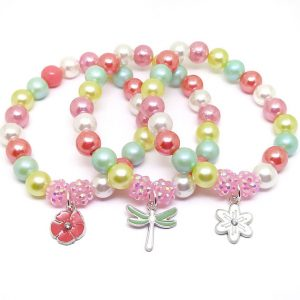 Thank your child's party guests for coming with these adorable garden themed bracelets.