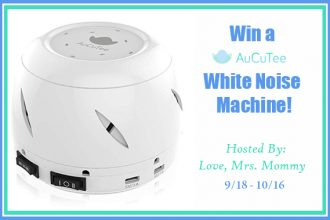 Having trouble sleeping? Having trouble getting the little ones to sleep? You may want to consider trying out a White Noise Machine. As a matter of fact, you can enter to win one right now just for your household. Enter to win in theSleep Soundly with AuCuTee's White Noise Machine Giveaway!Good luck.
