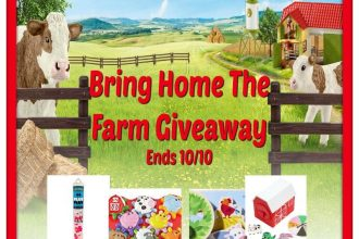 Here is a great opportunity to get a head start on your holiday gift shopping. Enter to win in theBring Home The Farm Giveaway.Good luck!