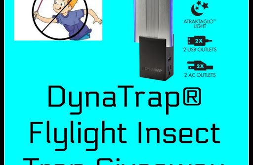 You definitely don't want to miss out on this giveaway! Enter to win in the DynaTrap® Flylight Insect Trap Giveaway.  Good luck!