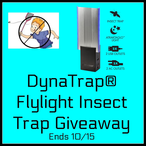 DynaTrap® Flylight Insect Trap Giveaway Ends 10/15