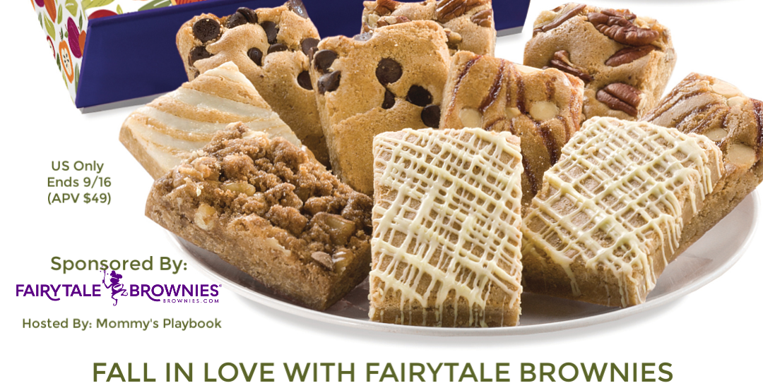 Enter to win in the Fairytale Brownie Giveaway