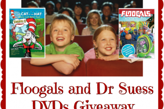 We are big time Dr. Seuss fans over here, so this giveaway is kind of a big deal for us. Don't miss out on the excitement. Enter to win in theFloogals and Dr Seuss DVDs Giveaway. Good luck.