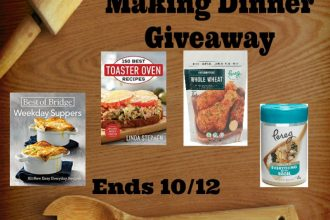 If you would like a helping hand at dinner, you will definitely not want to miss out on this amazing giveaway. Enter to win in theHelp For Making Dinner Giveaway. Good luck!