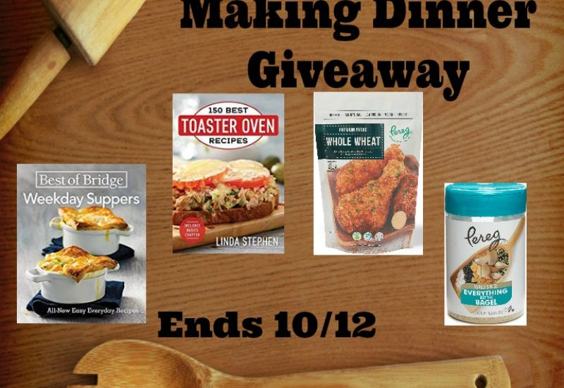 If you would like a helping hand at dinner, you will definitely not want to miss out on this amazing giveaway. Enter to win in the Help For Making Dinner Giveaway. Good luck!