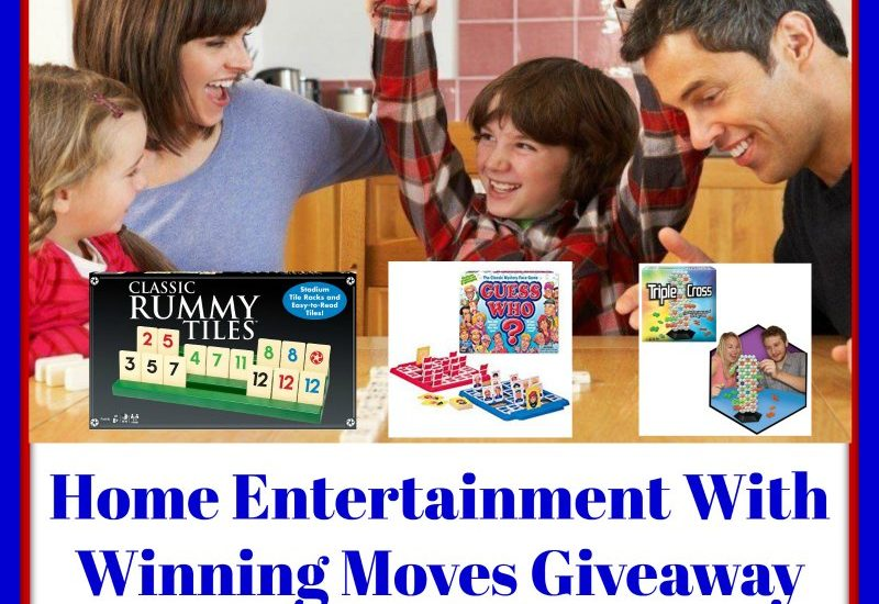 If you have been following MajorLeagueMommy for a while, you probably know how much we enjoy Family Game Night. It is such a great bonding activity, and we look forward to each and every game night (we currently do it once a month). You too can get in on some game night fun by entering to win in the Home Entertainment With Winning Moves Giveaway. Good luck!