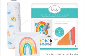I'm back with another awesome giveaway for my Mommas out there. This is a really cool set to win for yourself or as a shower gift for a friend. Enter to win in theLulujo Baby Giveaway. Good luck!