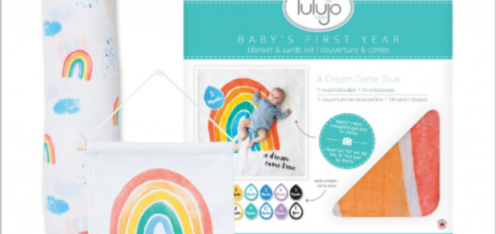 I'm back with another awesome giveaway for my Mommas out there. This is a really cool set to win for yourself or as a shower gift for a friend. Enter to win in the Lulujo Baby Giveaway. Good luck!
