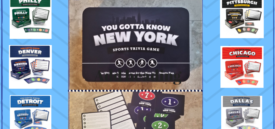 I am back with another fun giveaway for you all! This is absolutely perfect for my trivia-lovers looking for a new addition to their family game night. Enter to win in the You Gotta Know Games Giveaway.Good luck!