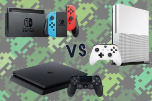 Nintendo Switch vs Xbox One vs PS4