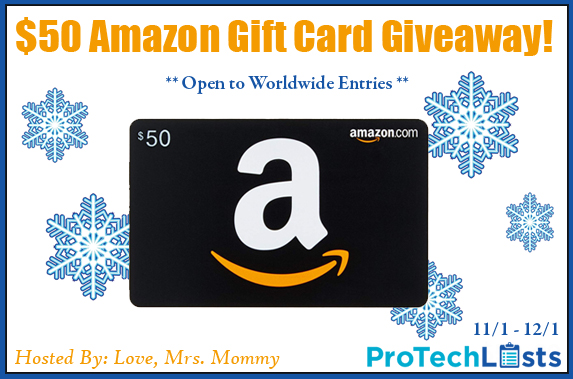 'Tis the season for holiday deals and gift-shopping, and we are here to help you out. Enter to win in the $50 Amazon Holiday Gift Card Giveaway before it's too late. Good luck!