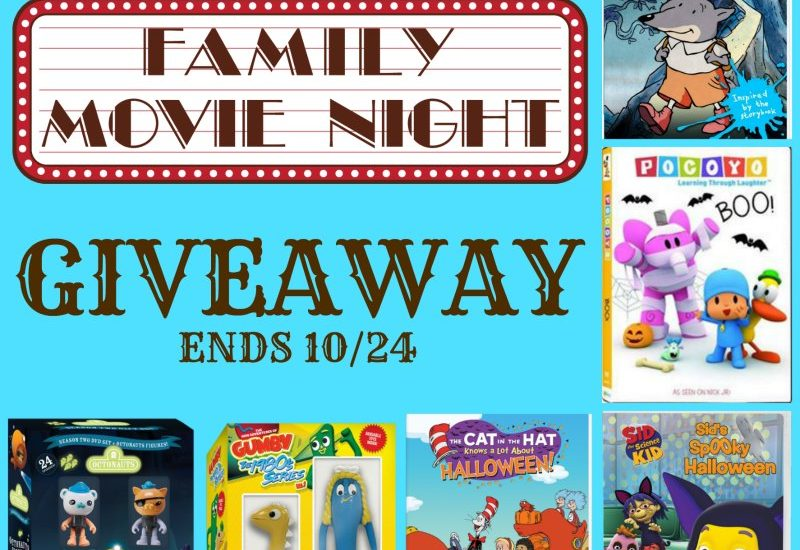 There's nothing like a good ol' Family Movie Night. We love doing family movie night around here, and it's even better when we have an exciting collection of movies to choose from. Here is your chance to win a movie night collection for your own family. Enter to win in the Family Movie Night Giveaway.