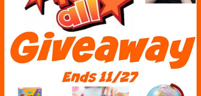 Keep the kiddos' brains busy over the holiday break with fun games they will be begging to play. Enter to win in theFun For All Giveaway before it's too late. Good luck!