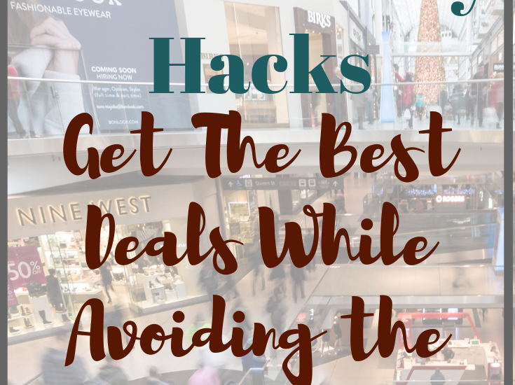 You too can snag a great deal without putting yourself in danger to do so. Continue reading for Black Friday Hacks that'll make your life so much easier. Happy shopping!