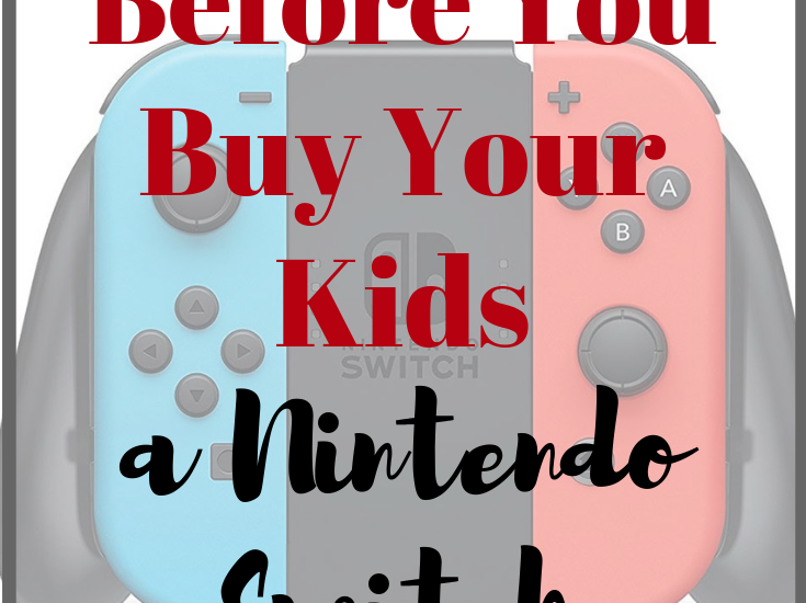 Many kids are asking for gaming systems and the latest games to go with it. You may be hearing mention of the Nintendo Switch, and are debating on whether or not you should purchase one for your household. If so, you will definitely want to Read This Before You Buy Your Kids a Nintendo Switch.